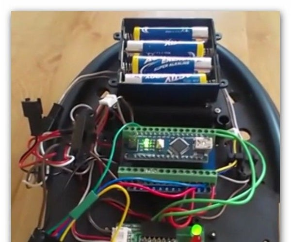 Simple Arduino Bluetooth Cybot on the Move and Android Appplication (updated)