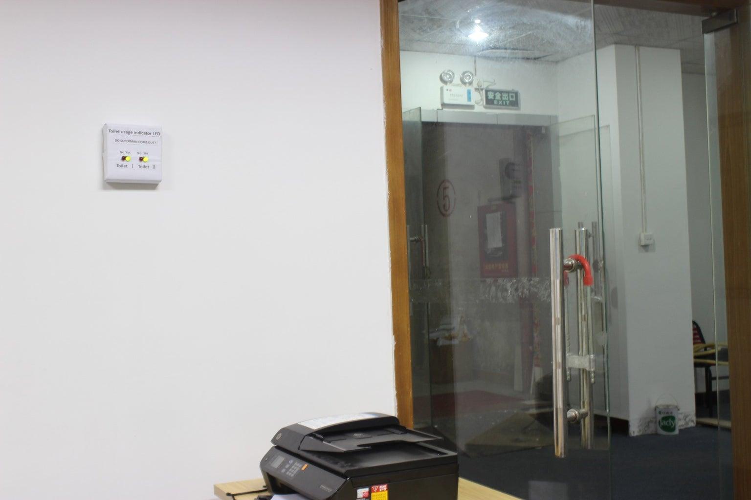 ESP8266 Wireless Toilet Usage Indicator (Smart Home)