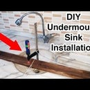 How to Install an Undermount Sink That Fell Off the Countertop (Marble/Granite)