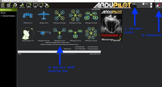 Setting Up Autopilot Firmware