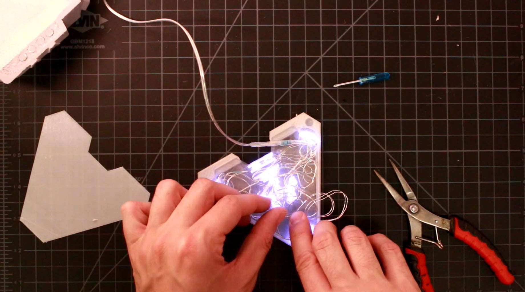Adding Movie Accurate Lights-Electronic Panel Assembly
