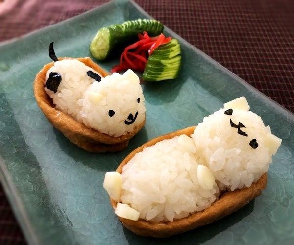 Inarizushi - Fried Tofu Sushi