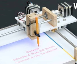 DIY CNC Writing Machine Using GRBL