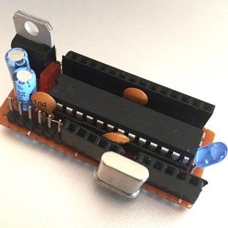 YABBAS - Yet Another Bare Bones Arduino (on Stripboard)