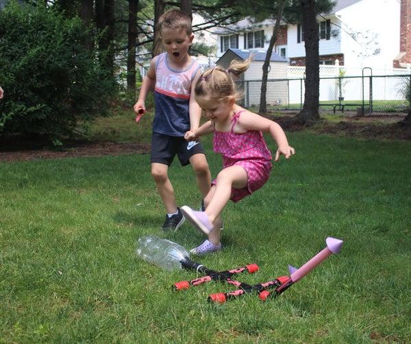 DIY Paper Stomp Rockets