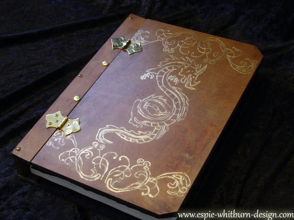 Engraved and Hand Painted Book