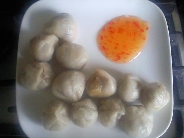 Improvised Dumplings!