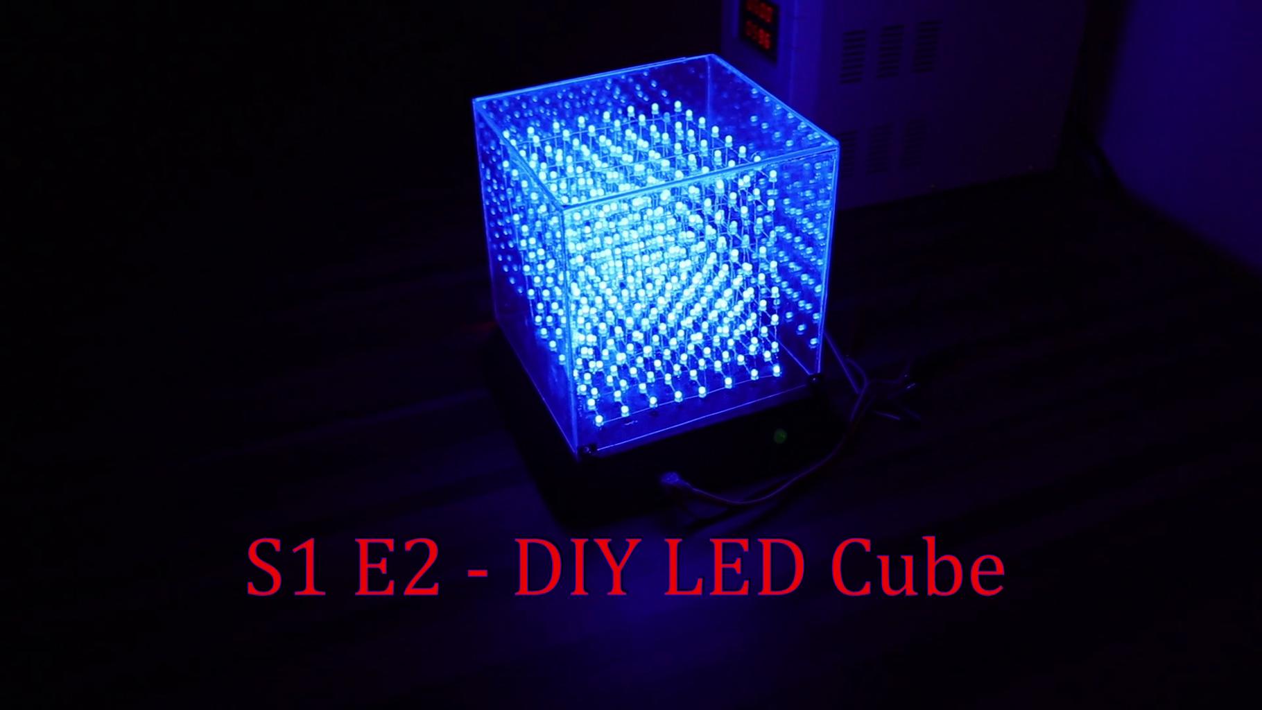 DIY LED Cube