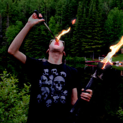 How to easily make quality juggling torches