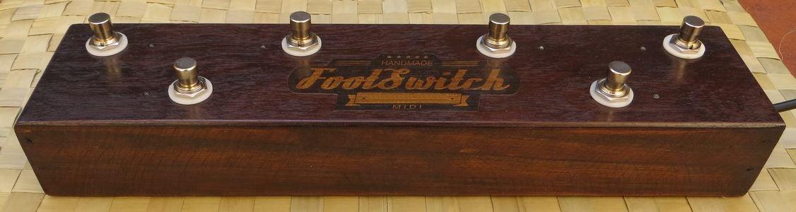 Midi Foot Controller (Pedalera Controladora MIDI) Para Amplitube 3.