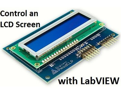 LCD Control With LabVIEW