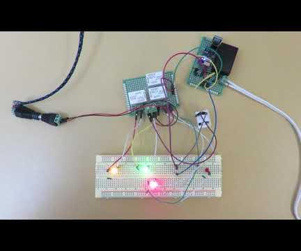 WiFi-controlled Power Switches Based on ESP8266-ESP01 and Managed Via WebThings