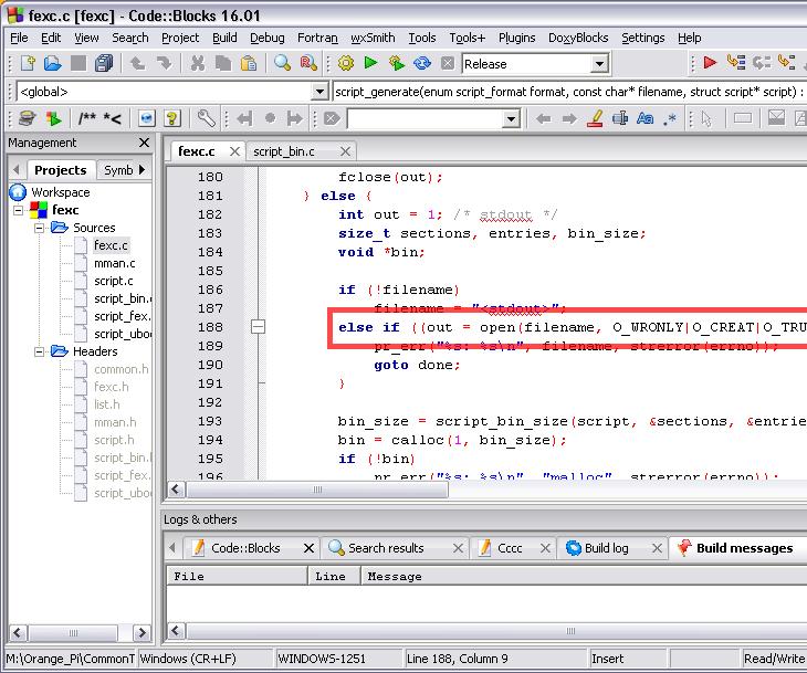 Orange PI HowTo: Compile Sunxi Tool for Windows Under Windows