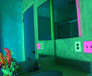 GLOW in the Dark Walls/Save Money on Your Electric Bill