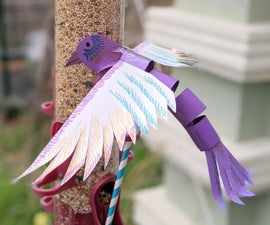 Paper Flying Puppet