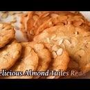 Perfect Recipe for Almond Tuiles