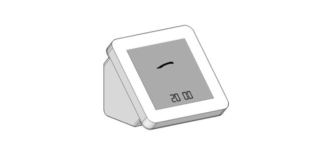 Design the Structure of Timer by Sketchup.