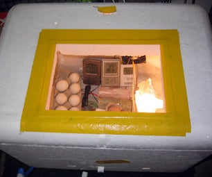 Styrofoam Forced Air Egg Incubator V 2.0
