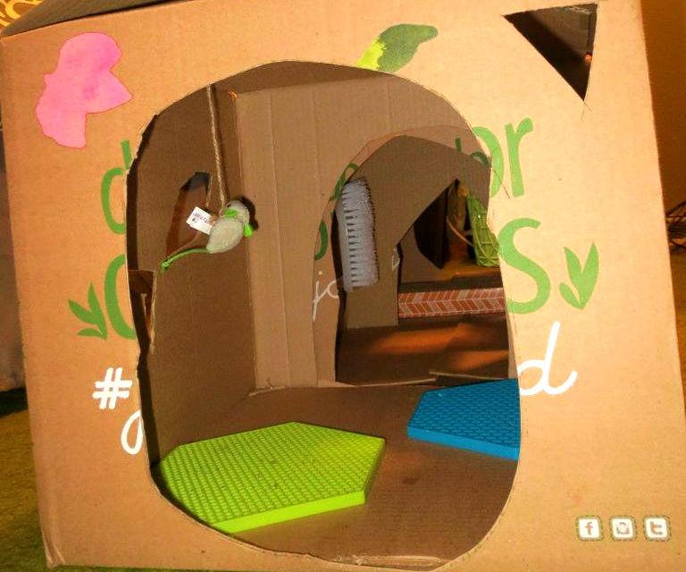 Cat-O-Matic Sensory Playhouse