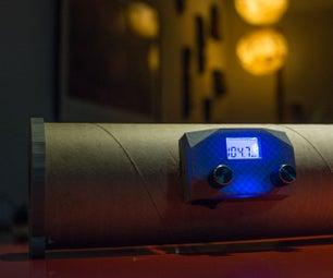 Radio FM Materiales Reciclados + Impresión 3D