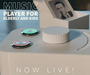 Juuke - a RFID Music Player for Elderly and Kids