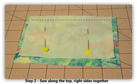 Step 2 - Sewing