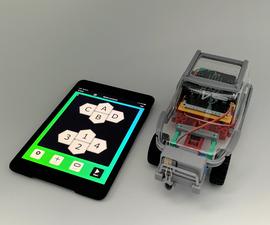 [2021]伺服绞车挑战!Micro:Bit Car&iPad(iPhone),用于征服重力