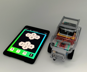 [2021] Servo Winch Challenge! Micro:bit Car & IPad (IPhone) for Conquering Gravity