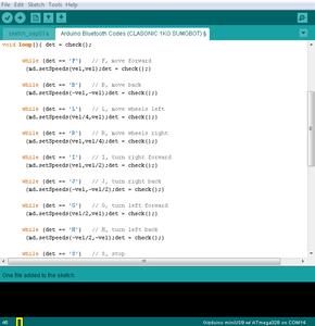 The Arduino Codes (C++)