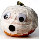 Halloween DIY Video: Mummy Pumpkin