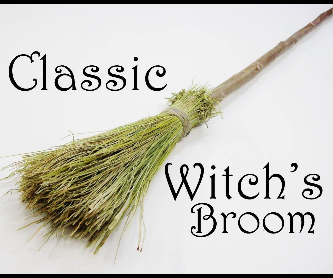 Classic Witch's Broom