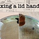 Fixing a Lid Handle With Wood