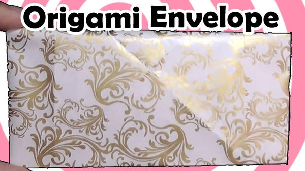 Origami Envelope - Video Tutorial