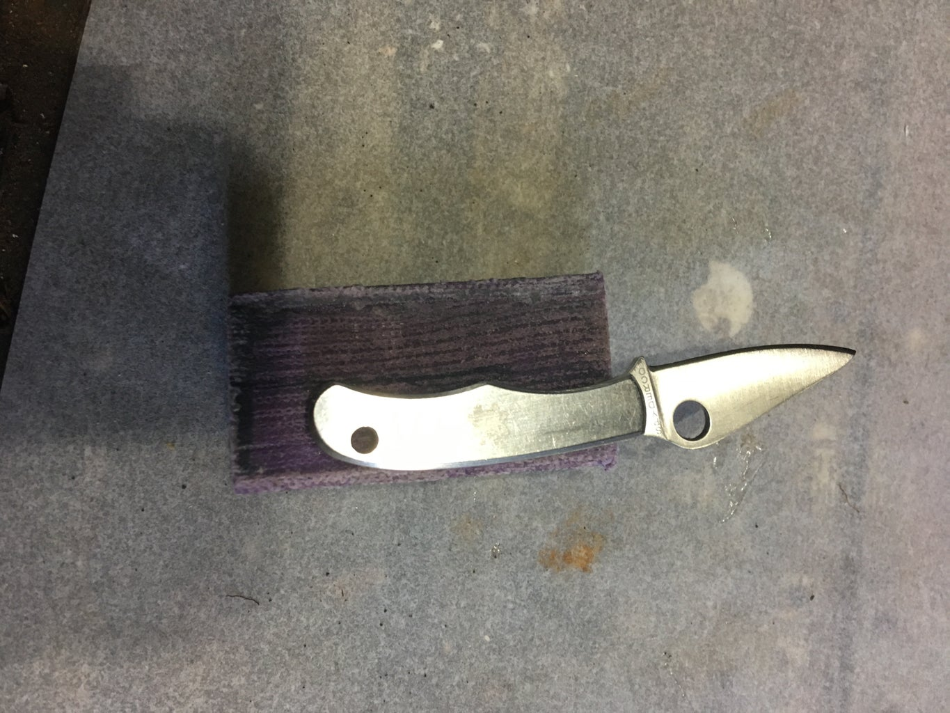 Problems Making the Micarta