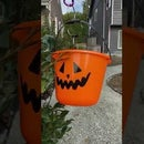 Flying Pumpkin Candy ZIpline for Social Distancing Halloween Trick or Treating