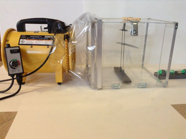 Creating and Testing Lift With a Homemade Wind Tunnel