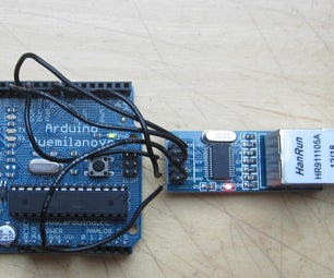 Add Ethernet to Any Arduino Project for Less Than 10$