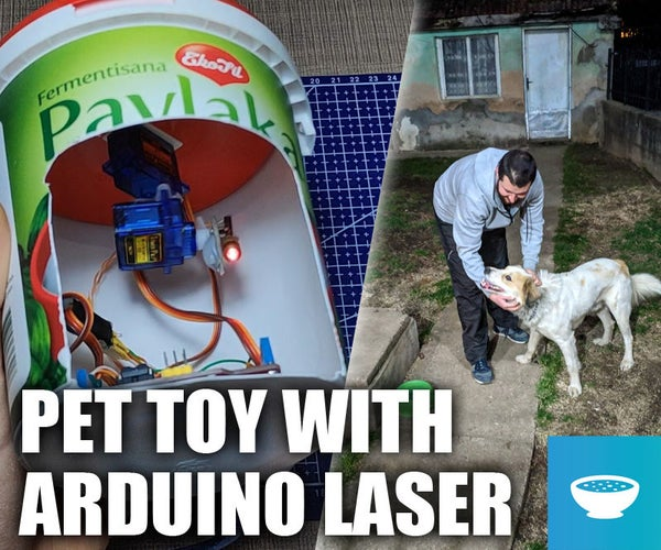 Arduino Controlled Laser Dog Chaser Toy