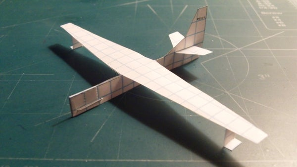 How to Make the StratoDragon Paper Airplane