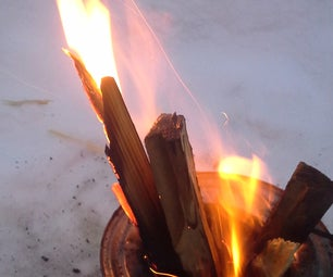 Simple Wood Gas Re-burner.