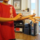 Chopstick Bow and Arrow
