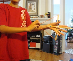 Chopstick Bow and Arrow
