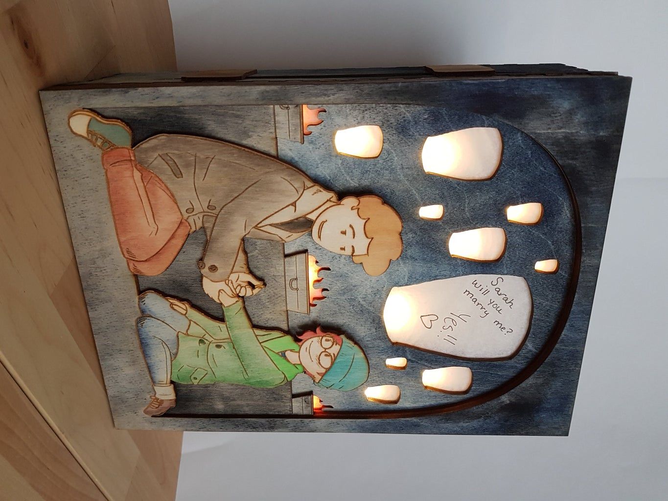 Light Up Picture Box
