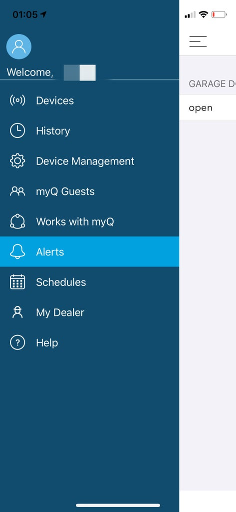 Set Up Your Account in Your MyQ App