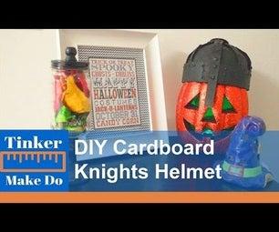 DIY Cardboard Knight's Helmet