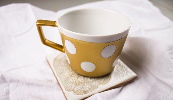 Spray Painted Coffee Mug