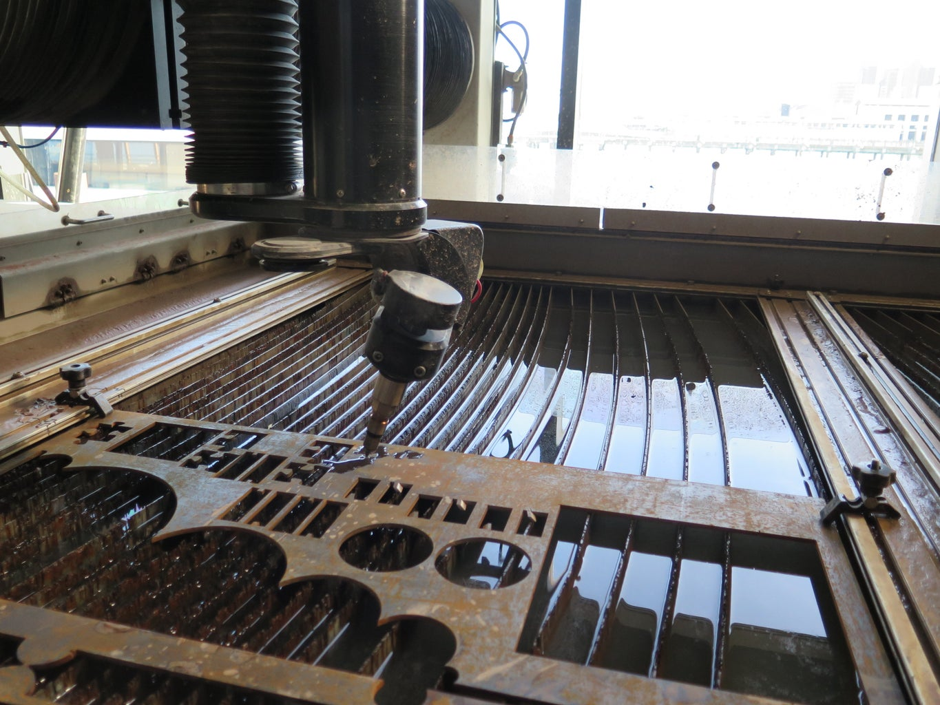 Making 5-Axis Cuts on an OMAX Waterjet