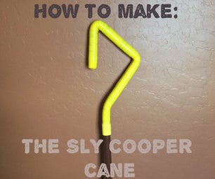 How to Make a Sly Cooper Cane