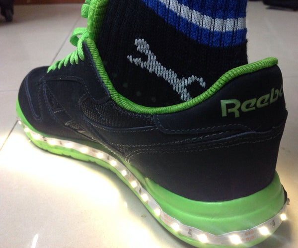 Rechargeable LED Illuminated NightShoe