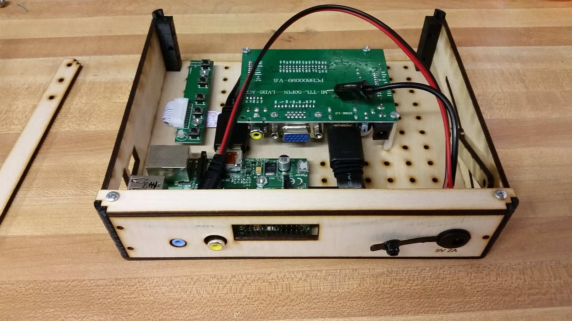 Back Plate and Power Connections